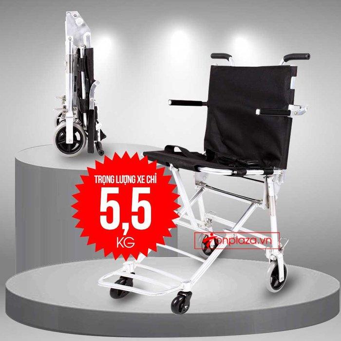 Xe lăn tay siêu gọn nhẹ thế hệ mới dành cho người khuyết tật TM037