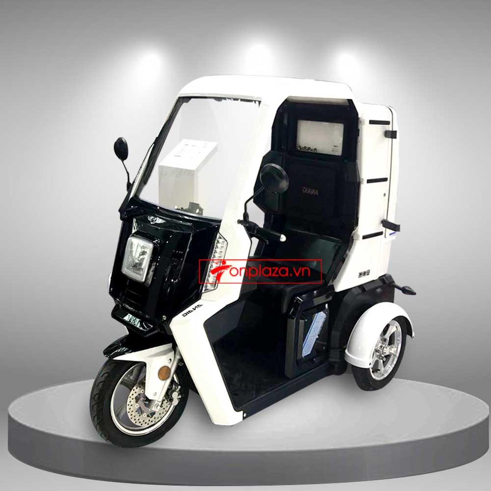 Xe ô tô điện 3 bánh mini thời trang siêu gọn TM038