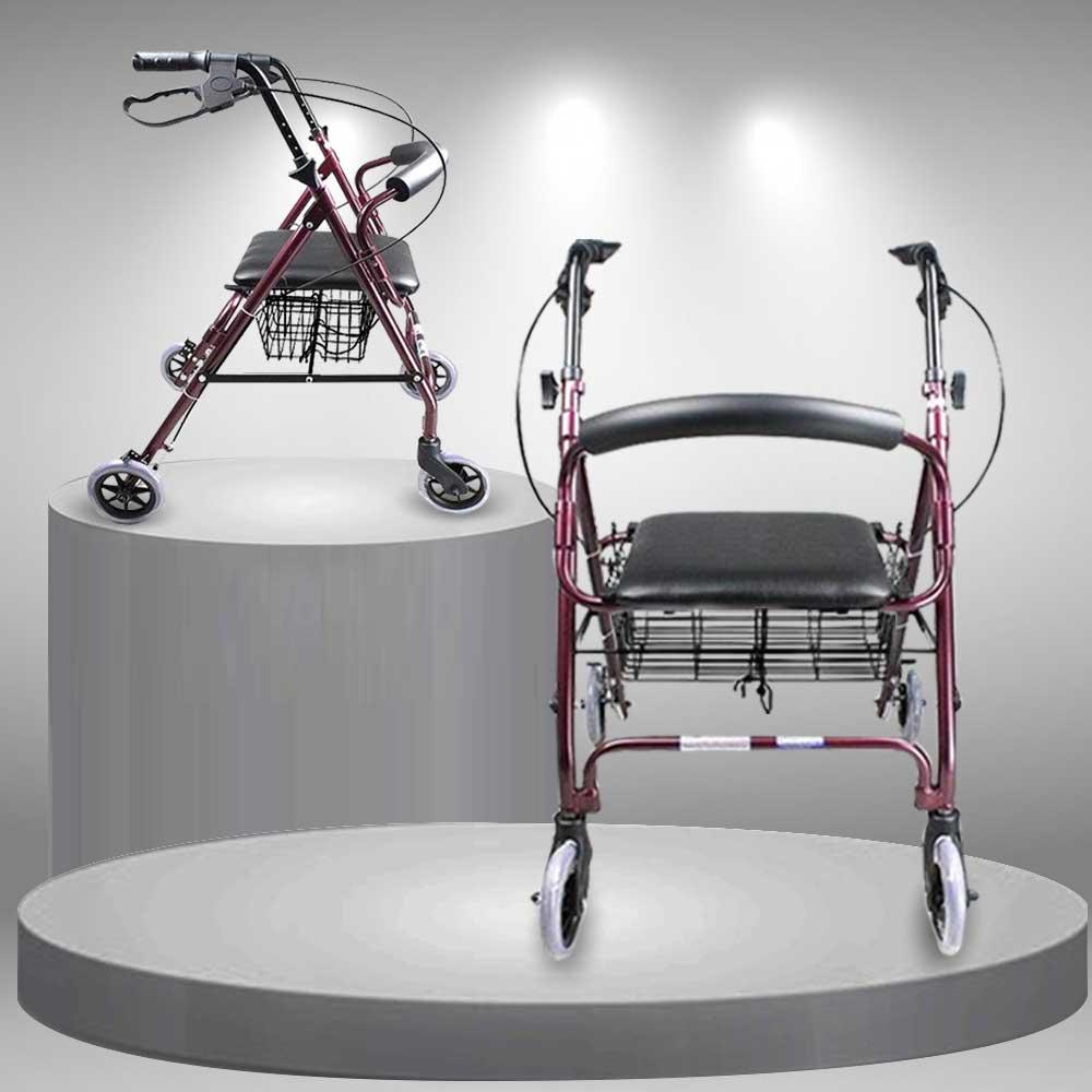 Khung tập đi cao cấp thiết kế có bánh xe tiện lợi dành cho người khuyết tật TM040 Khung tập đi cao cấp thiết kế có bánh xe tiện lợi dành cho người khuyết tật TM040