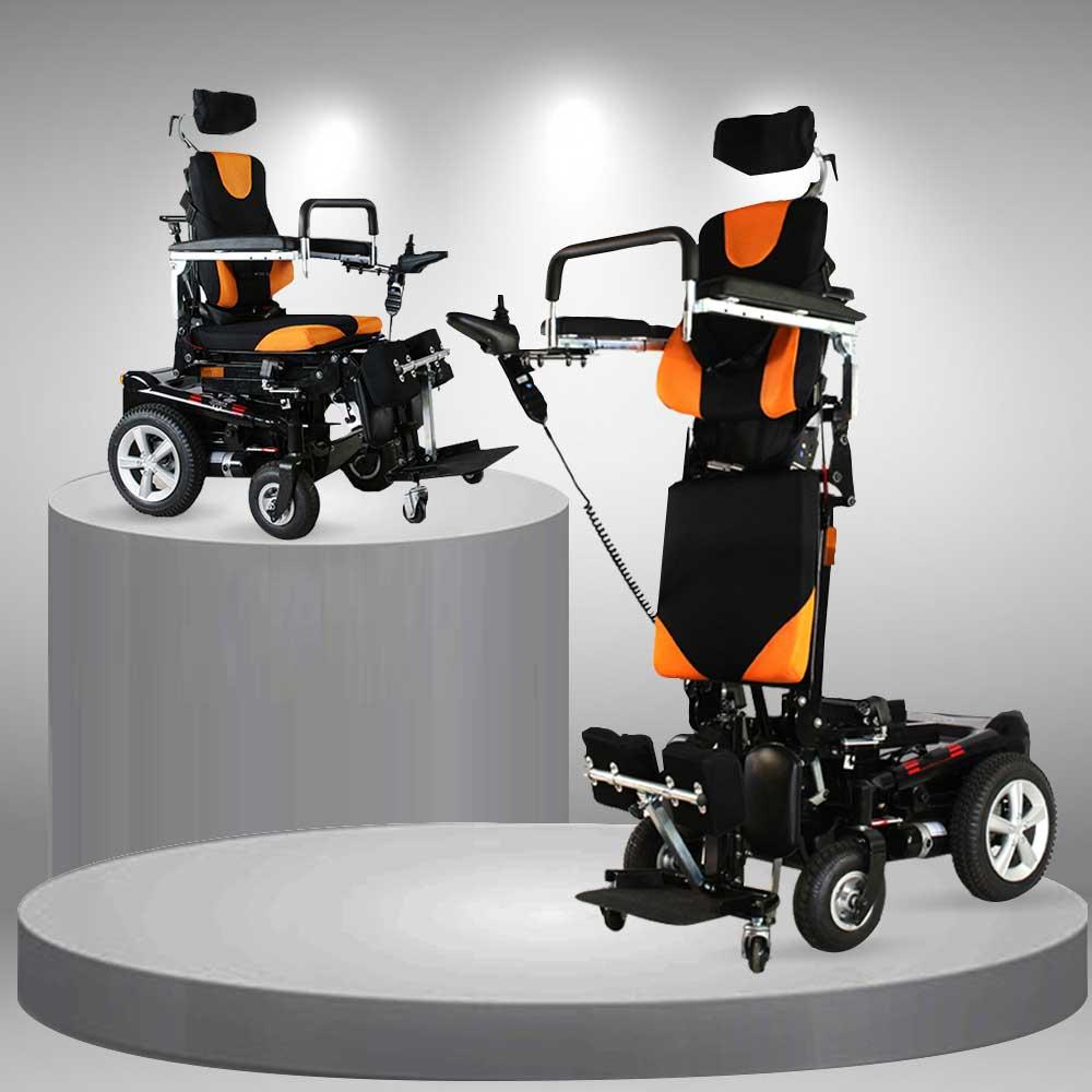 Xe lăn điện cao cấp đa chức năng phục hồi hiệu quả TM041