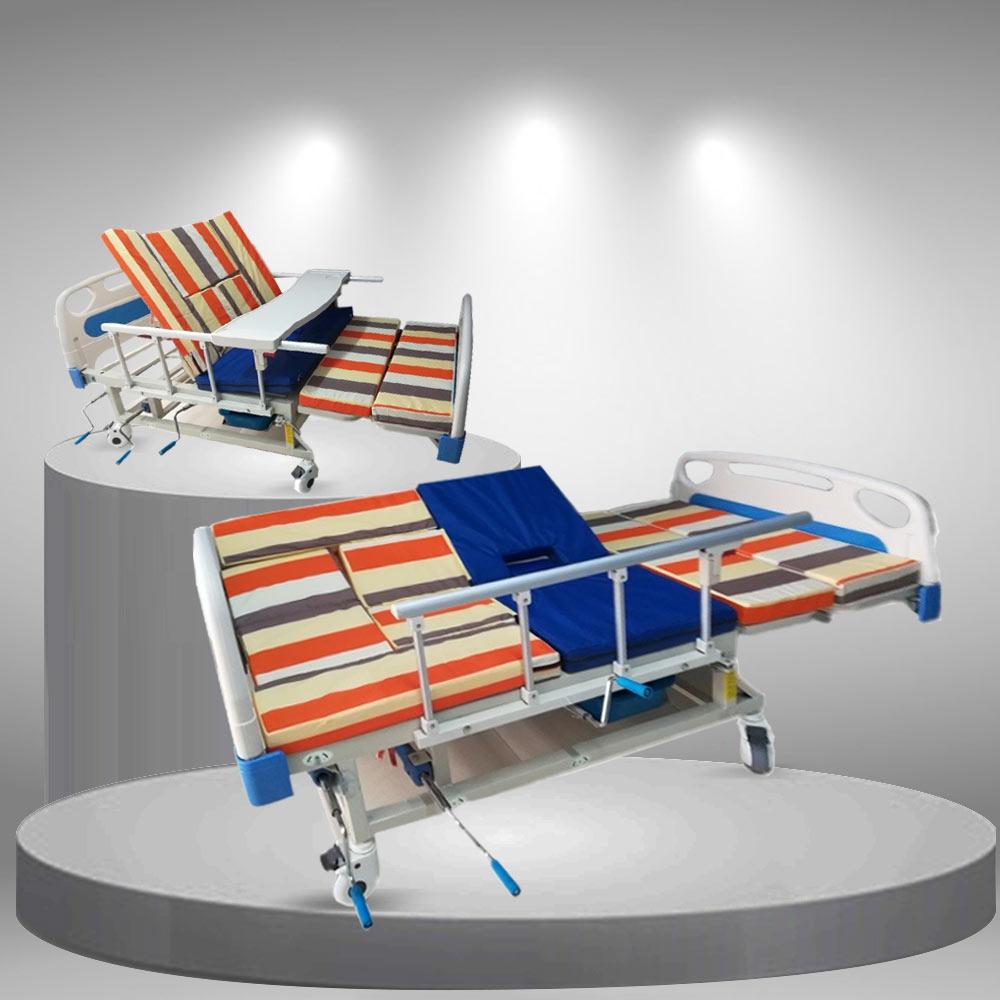 Giường bệnh y tế 3 tay quay cao cấp TM051