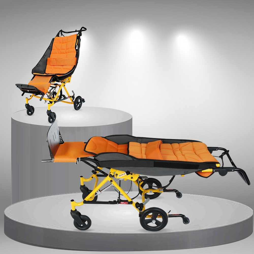 Xe lăn ngả chuyên dùng cho trẻ bại não khuyết tật TM045