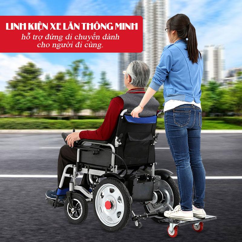 Phụ kiện hỗ trợ đứng sau người dùng xe lăn điện PK13-1 1