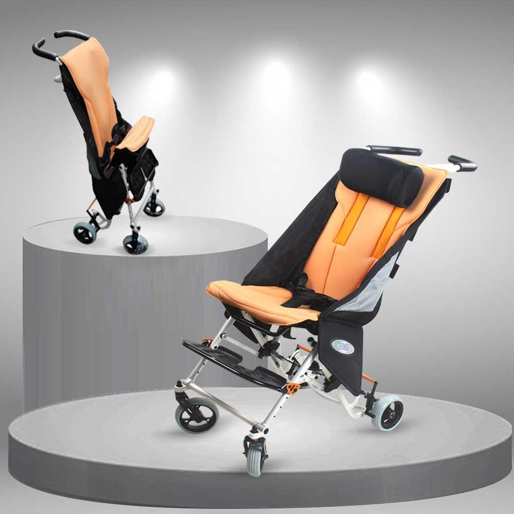 Xe lăn cho trẻ bại não và trẻ khuyết tật cao cấp TM048