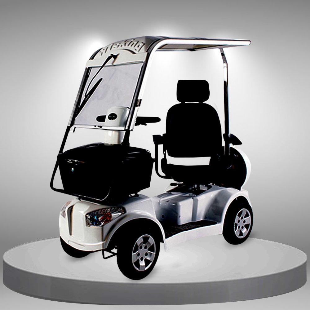 Xe điện 4 bánh linh động có mái che tiện lợi TM069