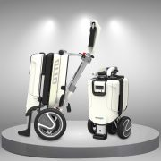 Xe điện mini cao cấp kiểu dáng gấp gọn vali sang chảnh tiện lợi (mang được lên máy bay) TM065