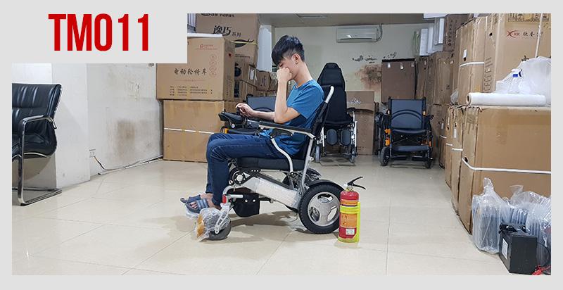 Xe lăn điện đa dụng thiết kế hiện đại TM011 1