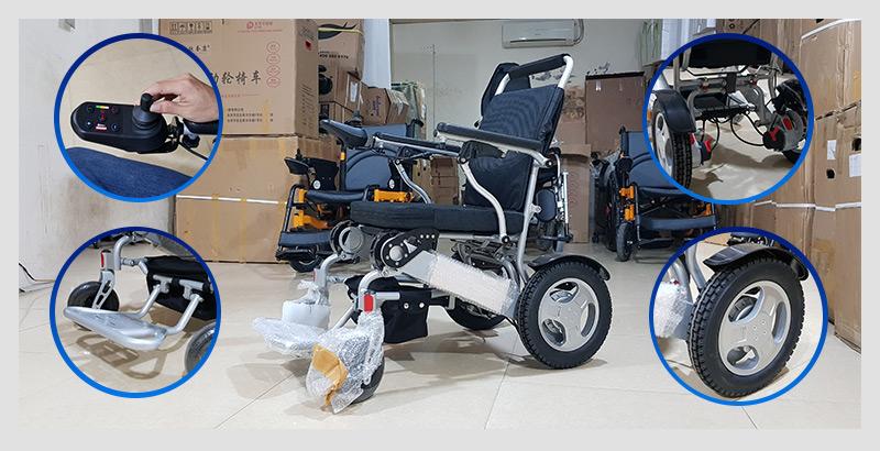 Xe lăn điện đa dụng thiết kế hiện đại TM011 4