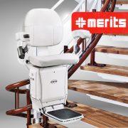 Hệ thống ghế leo thang uốn tự động hàng nhập khẩu cao cấp lắp từ tầng 1-2 TM076