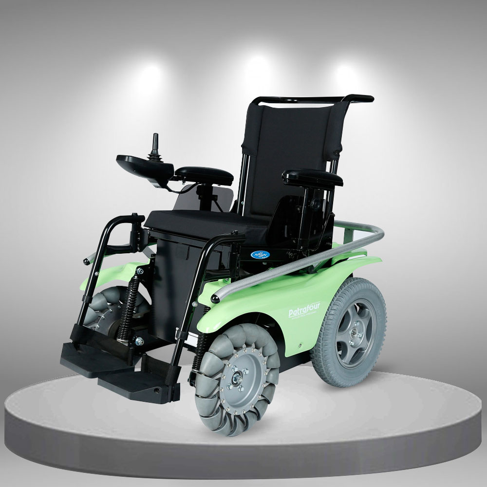 Xe lăn điện nhập khẩu cao cấp đi được trên cát, trên tuyết TM073