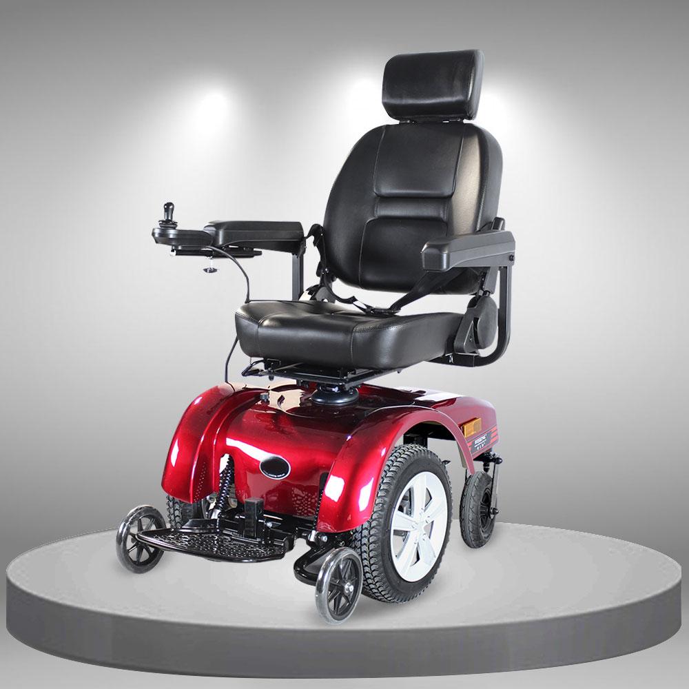 Xe lăn điện đa năng cao cấp kiểu ghế thư giãn xoay 360 độ TM081