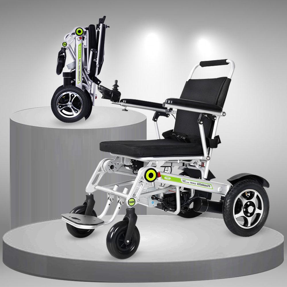 Xe lăn điện thời trang cao cấp tự động gập gọn TM074