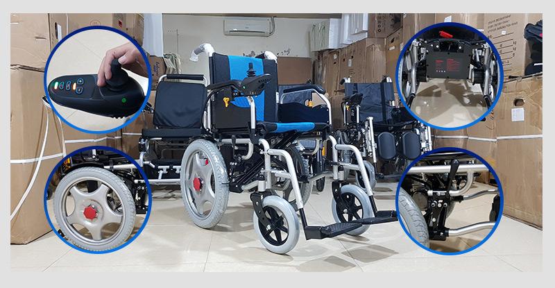 Xe lăn điện tự động hóa cao cấp TM004 4