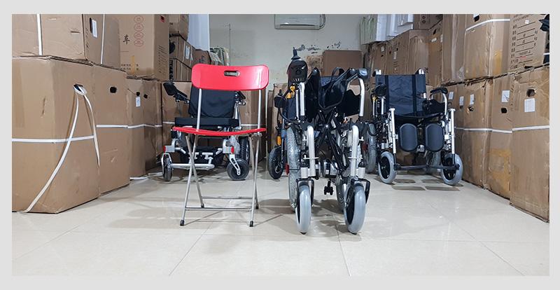 Xe lăn điện tự động hóa cao cấp TM004 6