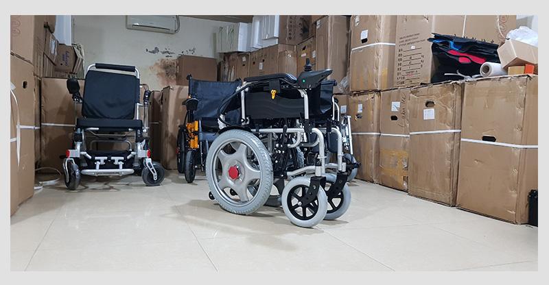 Xe lăn điện tự động hóa cao cấp TM004 7