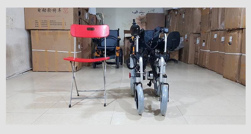 Xe lăn điện tự động thế hệ mới ngả nằm (Vành đúc) TM036D 9