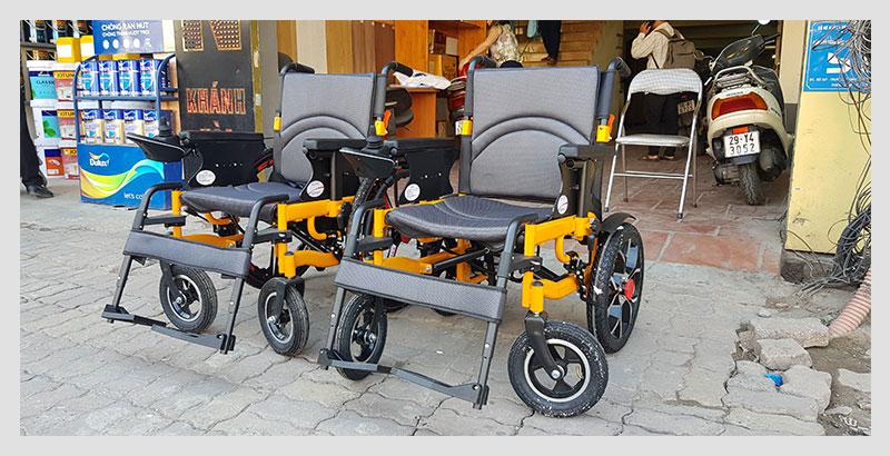 Xe lăn điện thông minh chống lật ngược dành cho người khuyết tật TM057 2
