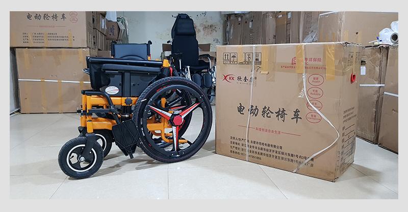 Xe lăn điện thông minh chống lật ngược dành cho người khuyết tật TM057 8
