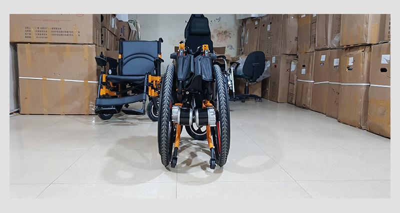 Xe lăn điện thông minh chống lật ngược dành cho người khuyết tật TM057 9