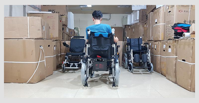 Xe điện 4 bánh TM005 hỗ trợ người già chân yếu di chuyển 3