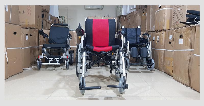 Xe điện 4 bánh TM005 hỗ trợ người già chân yếu di chuyển 6