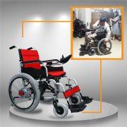Xe điện 4 bánh TM005 hỗ chợ người già chân yếu di chuyển