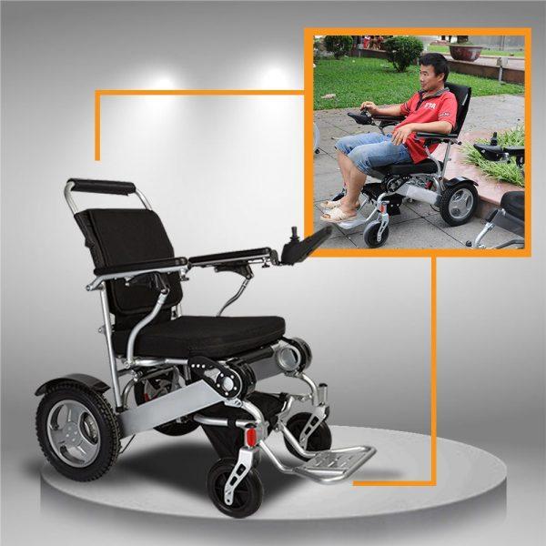 Xe điện cho người cao tuổi, xe gấp gọn, có định vị GPS TM011