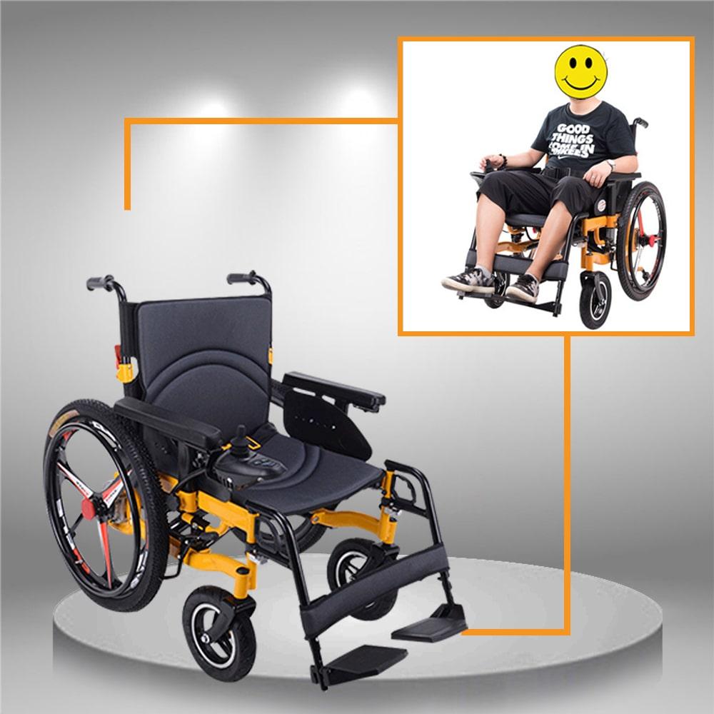Xe điện chống lật ngược cho người cao tuổi TM057