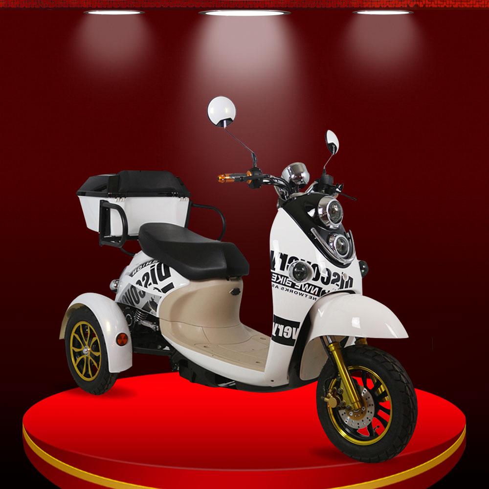 Xe máy điện 3 bánh thăng bằng cho người già sức khỏe tốt TM035