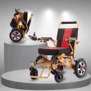 Xe lăn điện cao cấp có thể gấp gọn tiện dụng dành cho người già, người khuyết tật TM094