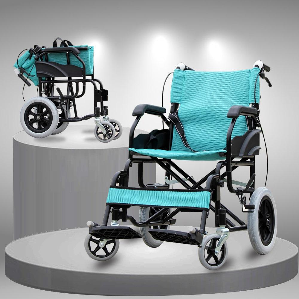 Xe lăn gấp gọn siêu nhẹ tiện dụng dành cho người già người khuyết tật TM091
