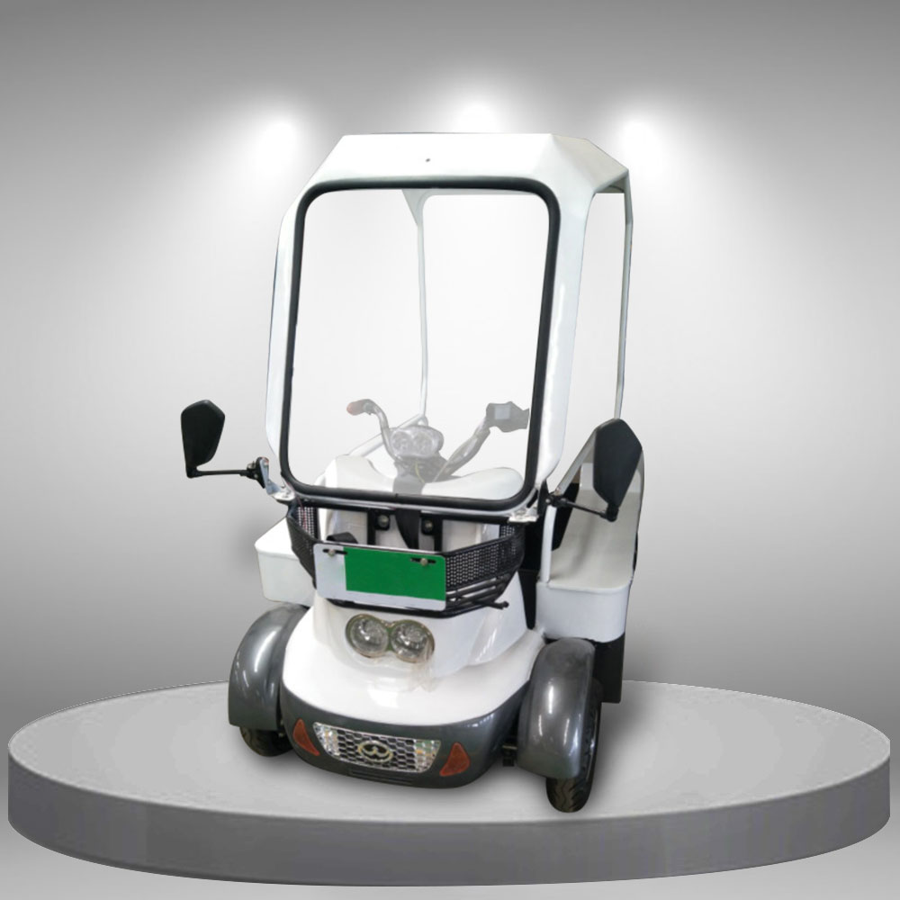 Xe điện 4 bánh nhập khẩu cao cấp có mái che tiện lợi TM088