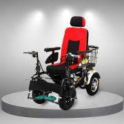 Xe lăn điện bốn bánh đa chức năng nhập khẩu TM101