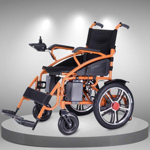 Xe lăn điện điều khiển thông minh bánh lớn nhập khẩu TM106