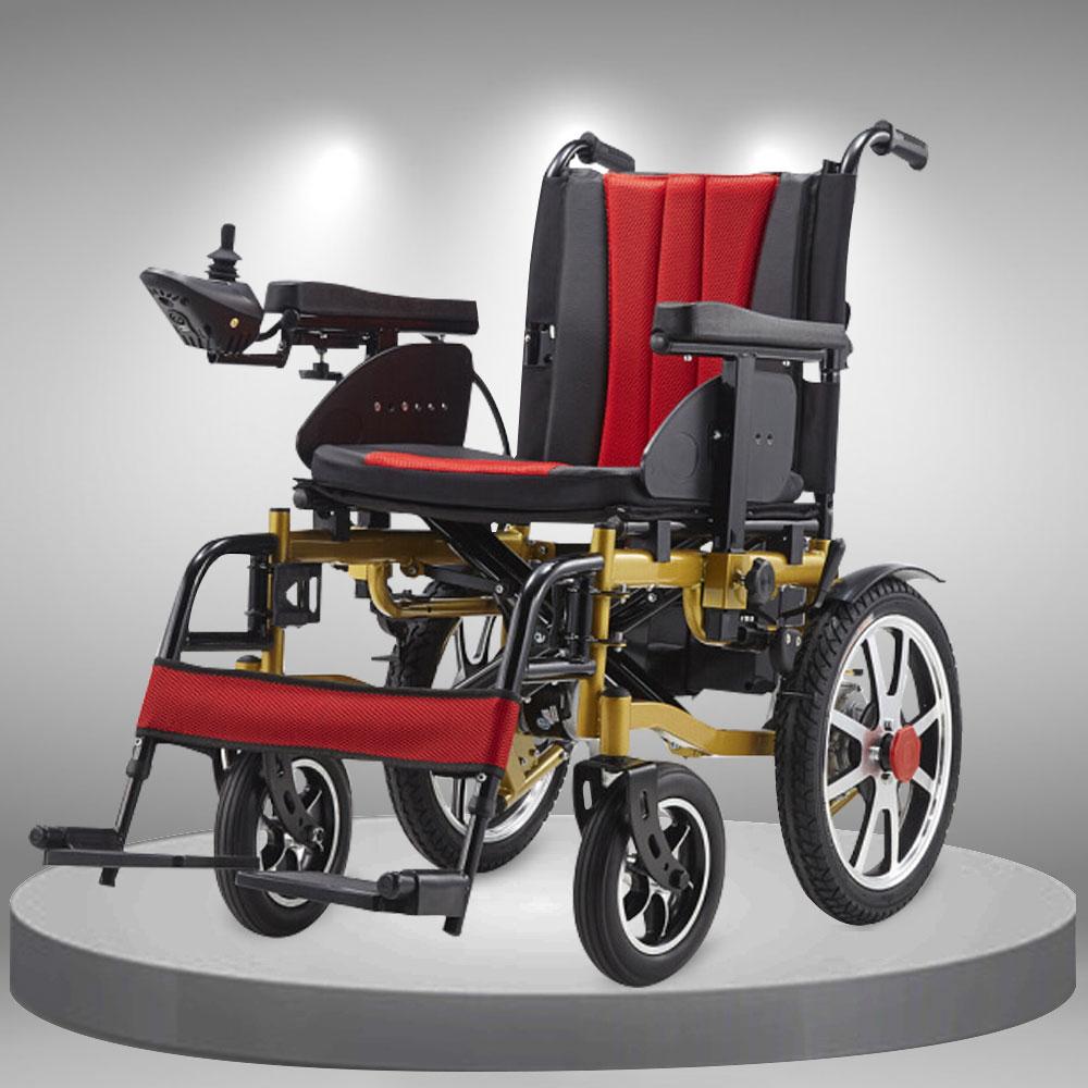 Xe lăn điện cao cấp nâng tay vịn, đa chức năng TM111