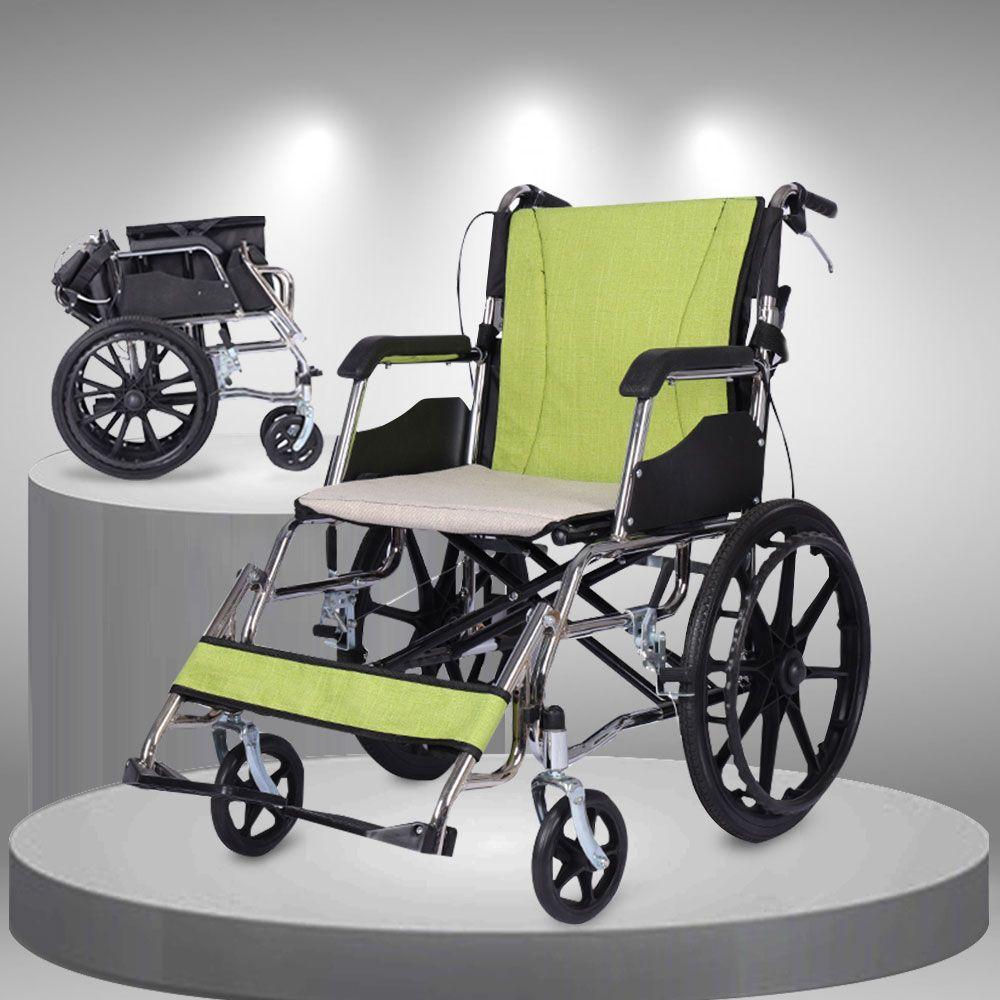 Xe lăn gấp nhỏ gọn siêu nhẹ thuận tiện đi du lịch TM044N
