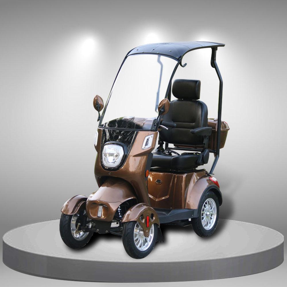 Xe tay ga điện 4 bánh nhập khẩu cao cấp kiểu dáng ấn tượng TM104