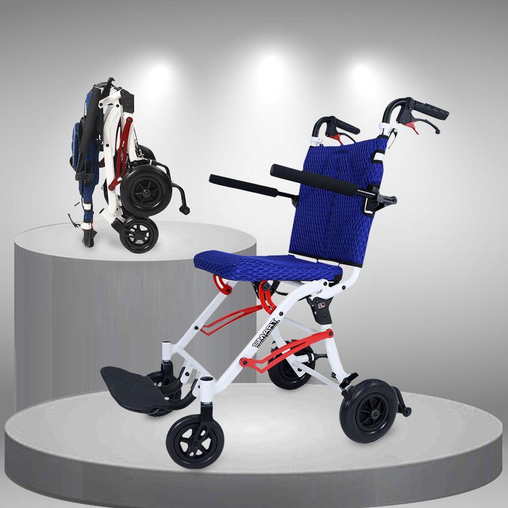 Xe lăn tay bánh nhỏ siêu nhẹ thế hệ mới TM112