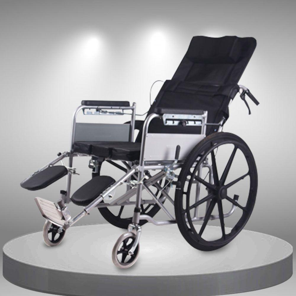 Xe lăn tay đẩy ngả nằm tiện dụng cao cấp TM114